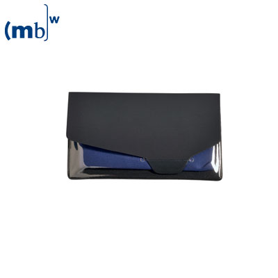 single packing for microfibre cloth, transparent pvc pack with tuck flap