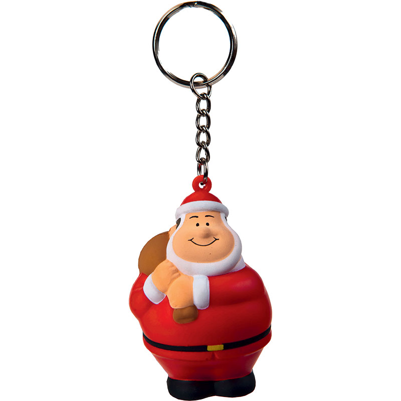 SQUEEZIES® Santa Bert® with keychain