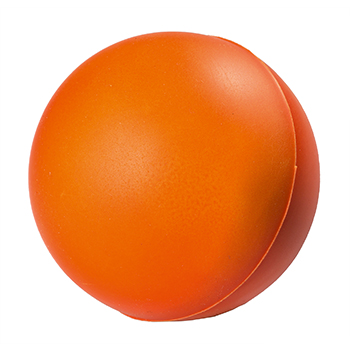 SQUEEZIES® orange ball colour changing 70mm
