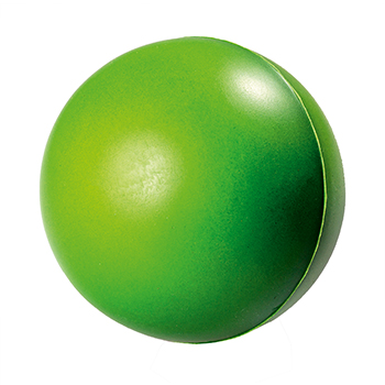 SQUEEZIES® green ball colour changing