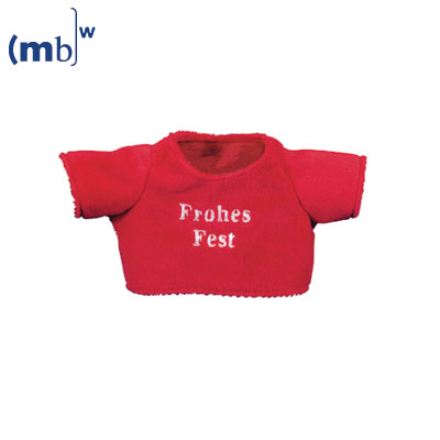x-mas t-shirt Frohes Fest for plushanimals size M