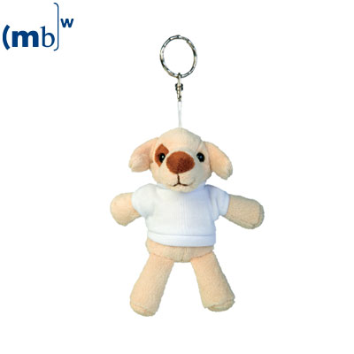 plush keychain dog