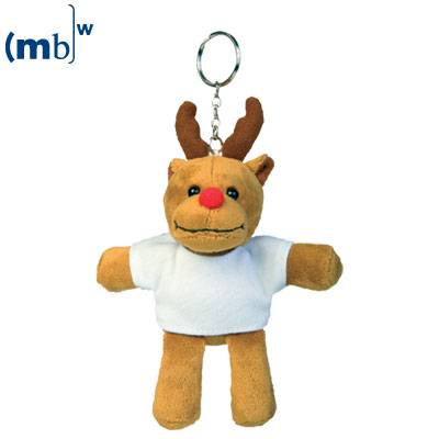 plush keychain moose
