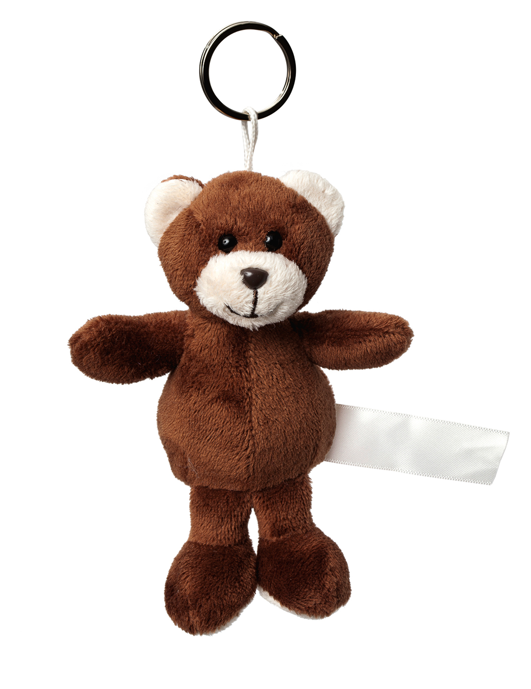 plush keychain bear