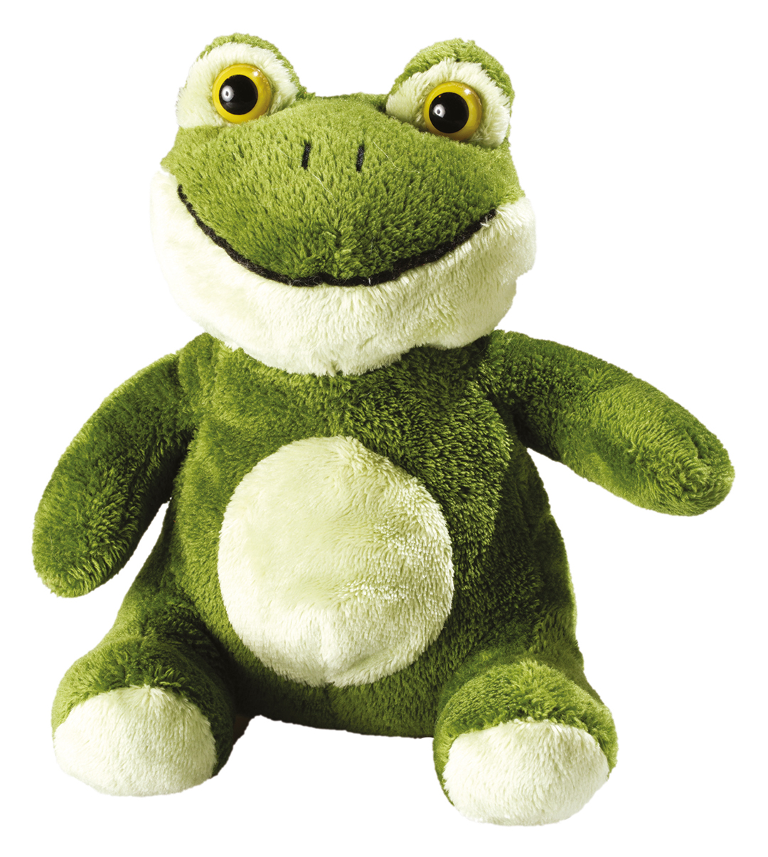 Hans softplush frog
