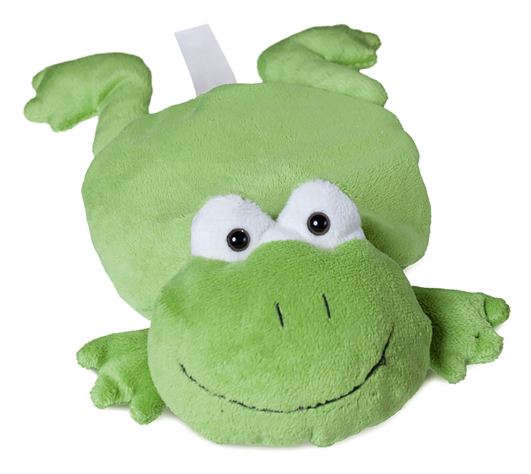 plush frog for grain cushions