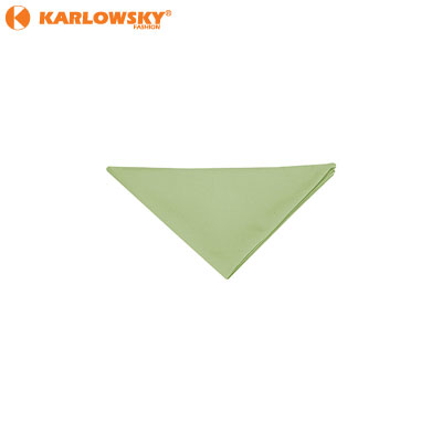 Triangle scarf - - - apple green