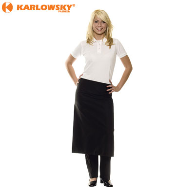 Bistro apron - Basic - black